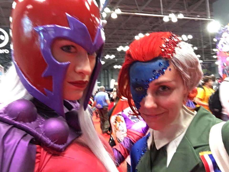 Потрясающий косплей Мистик сNew York Comic Con. - Изображение 4