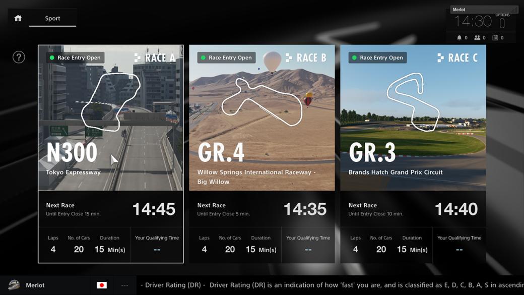 Создатели игры Gran Turismo Sport объявили озаписи набета-тест