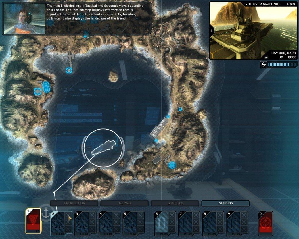 Рецензия на Carrier Command: Gaea Mission - Изображение 3