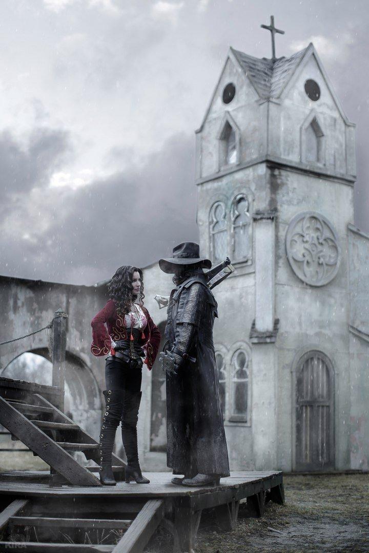 Косплей дня: беспощадные борцы с вампирами Ван Хельсинг и Анна - Изображение 19