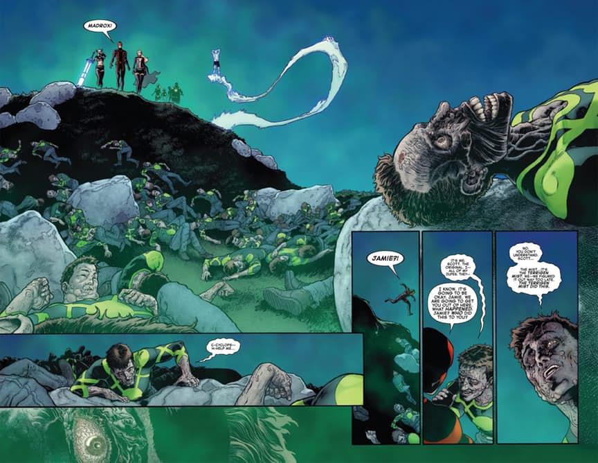 Вфинале комикса Death ofX#4 показали смерть мутанта Циклопа - Изображение 5
