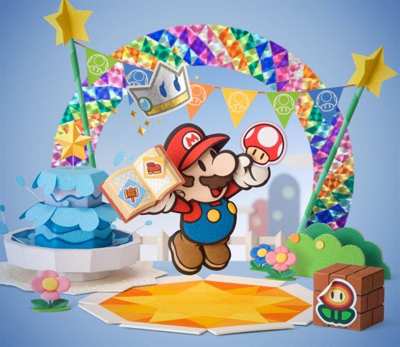 Рецензия на Paper Mario: Sticker Star. Обзор игры - Изображение 1