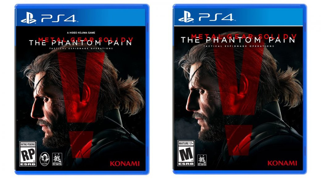 Konami убрала KojiPro с обложки MGS 5: The Phantom Pain  - Изображение 1
