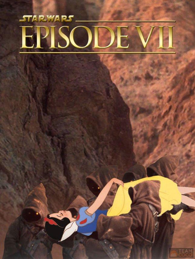 Фанатские постеры Star Wars: Episode VII - Изображение 47