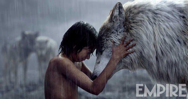 Новое фото «Книги джунглей»: Маугли и мать-волчица. - Изображение 1