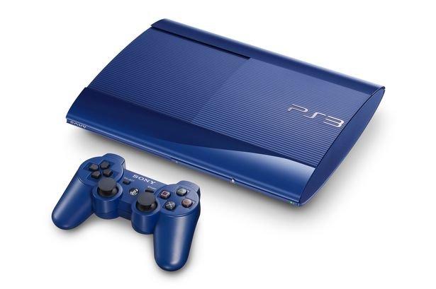 Sony выпускает синюю версию PS3 эксклюзивно для GameStop. - Изображение 1