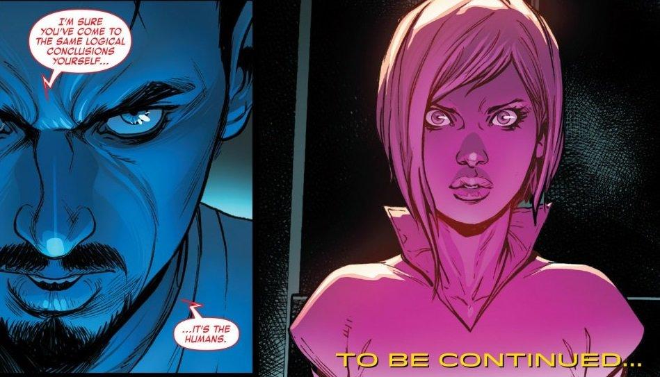Лучшее в комиксах за неделю: Искусственный Тони Старк и Тор без молота - Изображение 10