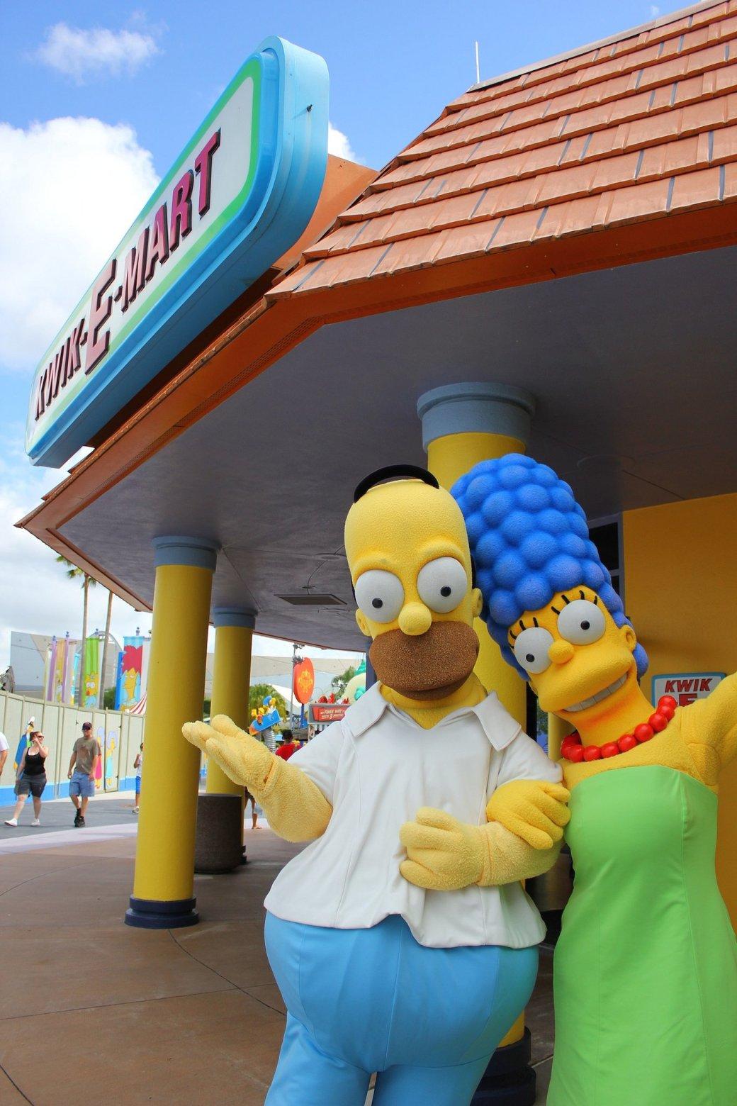 Лучшие фотографии  тематического парка «Симпсонов» - Изображение 2