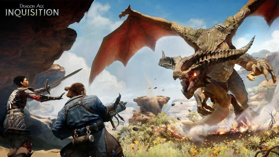 Новые кадры из Dragon Age: Inquisition запечатлели битву с драконом - Изображение 1