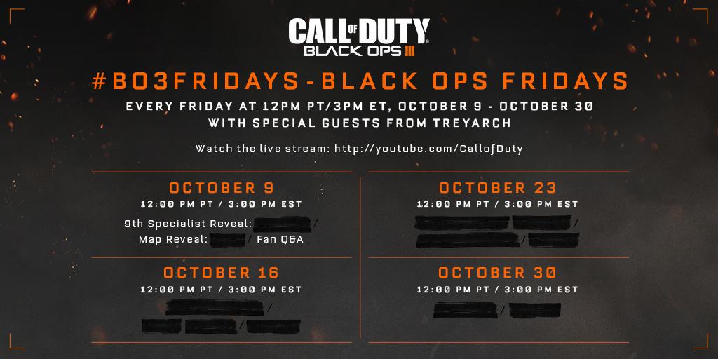 Treyarch будет рассказывать о новинках Black Ops 3 каждую пятницу - Изображение 1