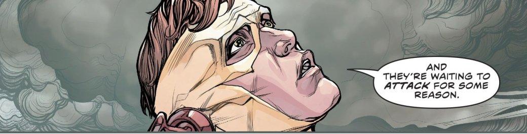 Куда привела Бэтмена и Флэша загадка значка Комедианта? - Изображение 12