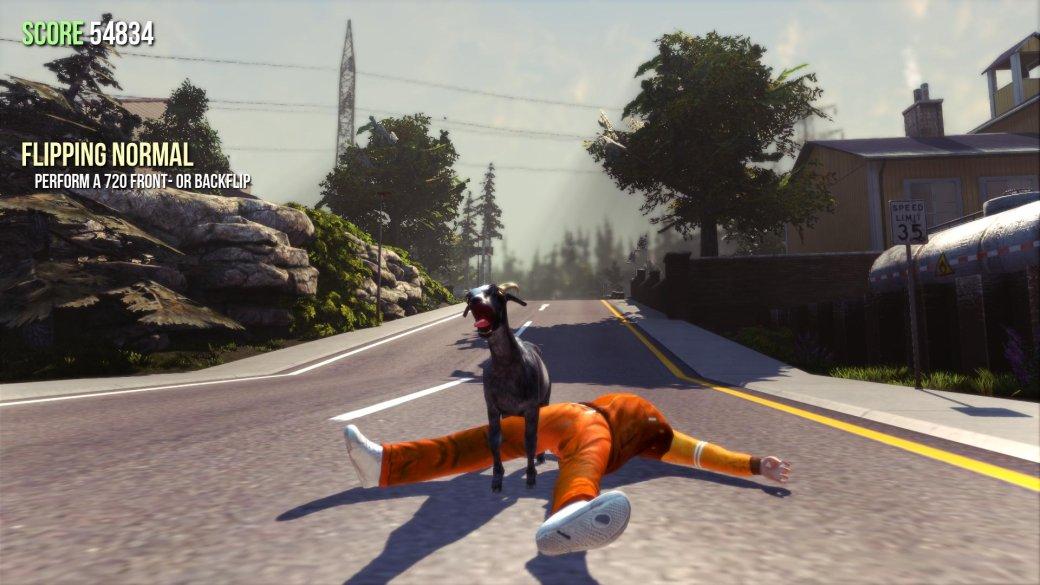 Майское обновление Goat Simulator добавит совместную игру за одним PC - Изображение 1