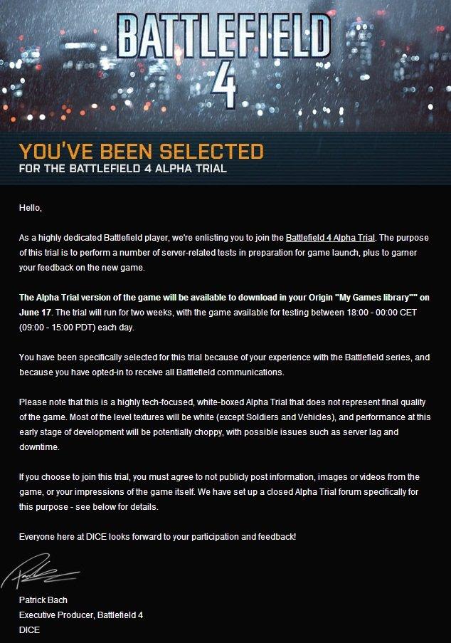 Началось закрытое альфа-тестирование Battlefield 4 - Изображение 1