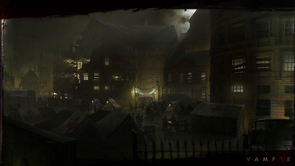 Новые подробности Vampyr от авторов Life is Strange: никаких школьниц - Изображение 1