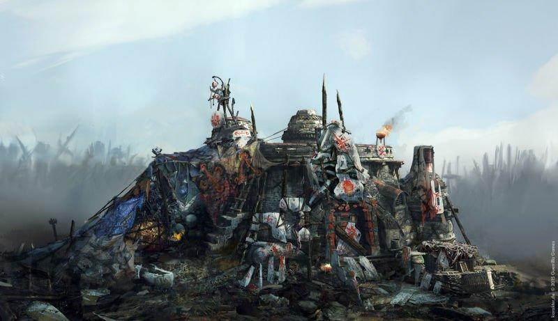Прекрасные концепты Horizon: Zero Dawn отхудожников «Игры престолов» - Изображение 28