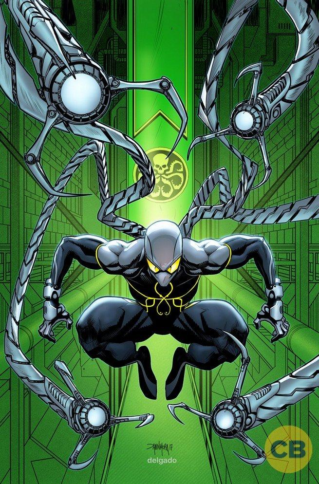 Marvel представила тайную обложку с Человеком-пауком – союзником Гидры - Изображение 2