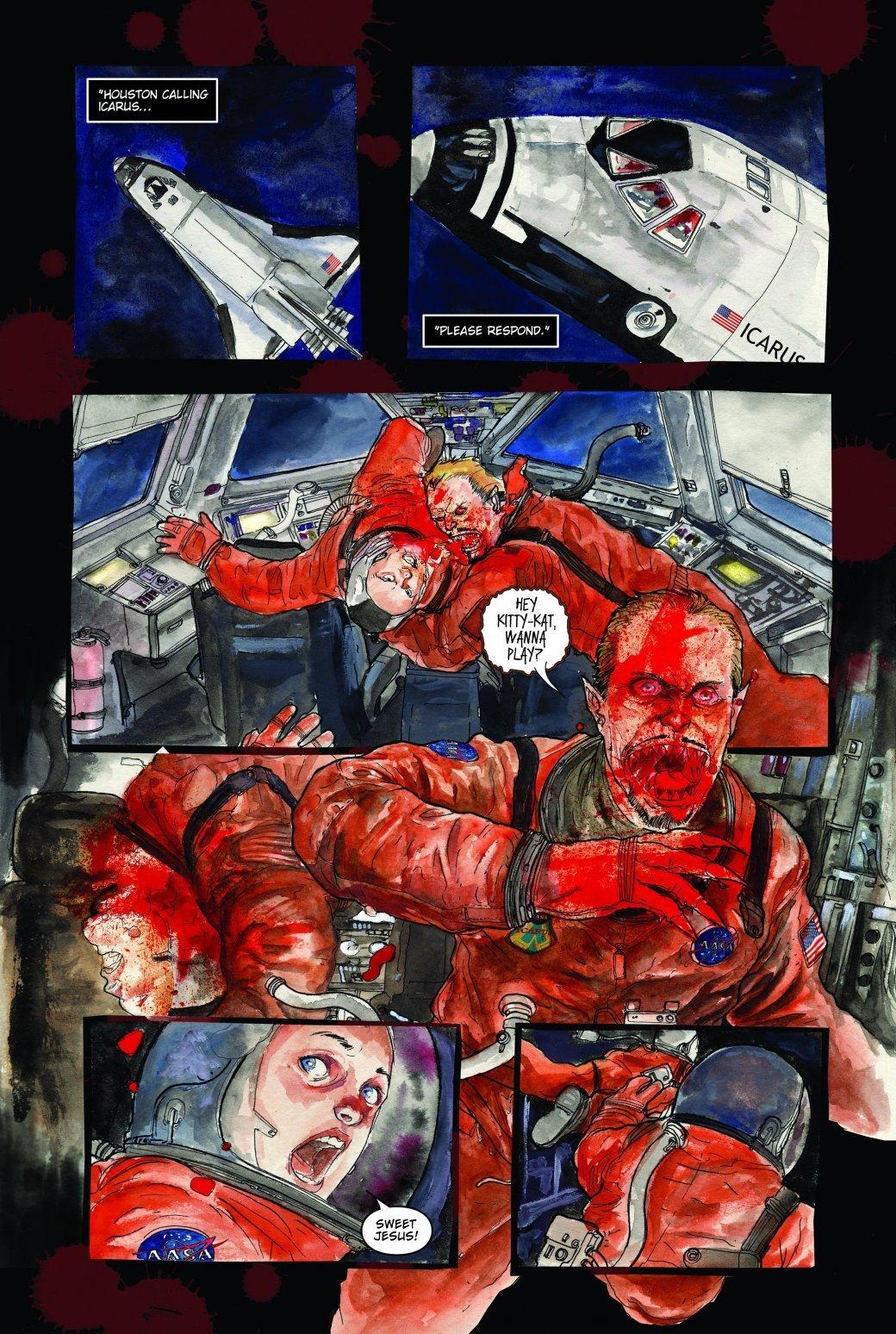 Самые жуткие комиксы про космос, которые вы только можете представить. - Изображение 4