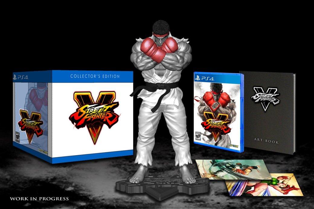 В состав коллекционного издания Street Fighter 5 входит статуэтка Рю - Изображение 1