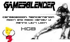 GamesBlender №9. Видеодайджест игрового мира