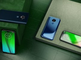 Motorola представила смартфоны Moto G7, G7Play, G7Plus иG7Power