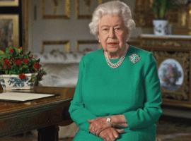 Обращение королевы Великобритании стало рекордным попросмотрам