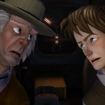 Скриншот Back to the Future: The Game - Episode 2. Get Tannen – Изображение 1