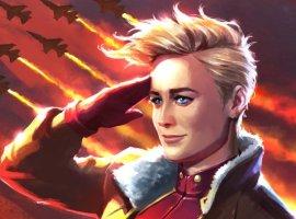 Кэрол Денверс столкнулась сглавным злодеем «Капитана Марвел» вновом отрывке изфильма