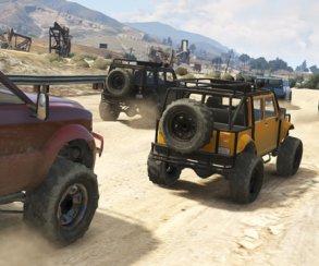 Гифка дня: настоящий рестлинг в исполнении машин в Grand Theft Auto 5