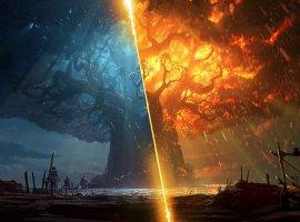 Blizzard бесплатно выпустила новеллы про сожжение Тельдрассила— сточки зрения Альянса иОрды