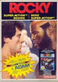 Rocky Super Action Boxing – фото обложки игры