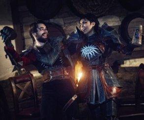 Косплееры по Dragon Age из Минска пьют и целуются