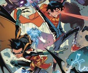 Супербой и Робин столкнулись со своим первым суперзлодеем