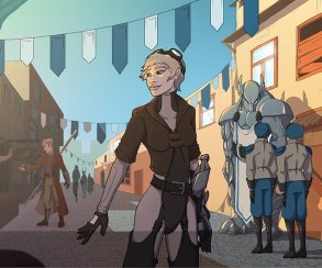 Красочная пошаговая RPG Grimshade ждет вашей поддержки на Kickstarter