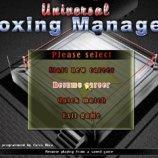 Скриншот Universal Boxing Manager – Изображение 1