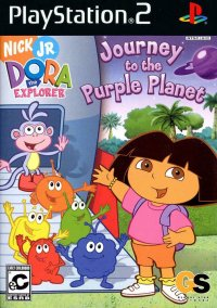 Dora the Explorer: Journey to the Purple Planet – фото обложки игры