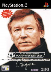 Alex Ferguson's Player Manager 2001 – фото обложки игры