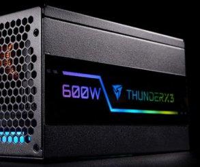 Хотите блок питания, в котором есть и мощность, и стиль? Ваш выбор— серия ThunderX3!