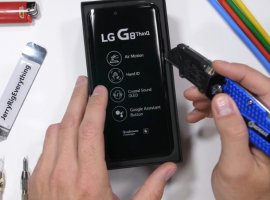 LG G8 ThinQ успешно прошел тесты на прочность