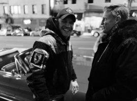 Нуарные Том Харди иВуди Харрельсон: это фото сосъемок «Венома2»