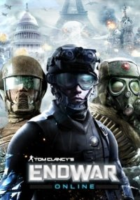 Tom Clancy's EndWar Online – фото обложки игры