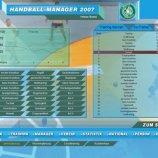 Скриншот Handball Manager 2007 – Изображение 3