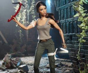 Расхитительница гробниц Лара Крофт стала новой куклой Barbie