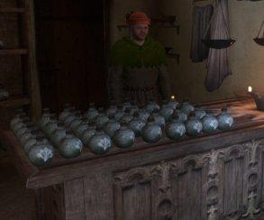 Во что превратится магазин алхимика в Kingdom Come, если продать ему 300 зелий?