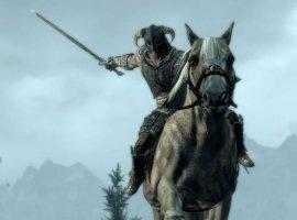 Гифка дня: лошадь, мечтающая ополетах, вThe Elder Scrolls V: Skyrim