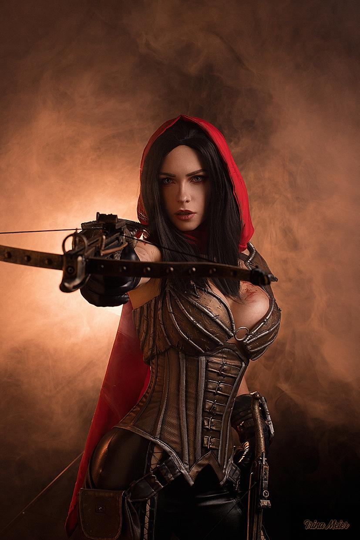Горячий косплей Охотницы на демонов из Diablo III   Канобу - Изображение 7