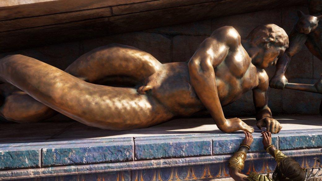 Журналист PCGamer составил топ пенисов изAssassin's Creed Odyssey— речь, конечно, остатуях | Канобу - Изображение 5