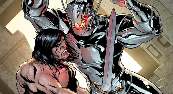 Конан-Варвар сразился ссупергероями Marvel, нолишь навариативных обложках | Канобу - Изображение 4344