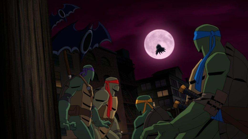 ВСети появился первый трейлер мультфильма «Бэтмен против Черепашек-ниндзя». Выглядит круто!   Канобу - Изображение 1