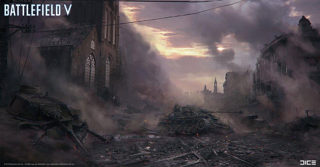 Взгляните на атмосферные концепт-арты и иллюстрации по Battlefield V   Канобу - Изображение 269