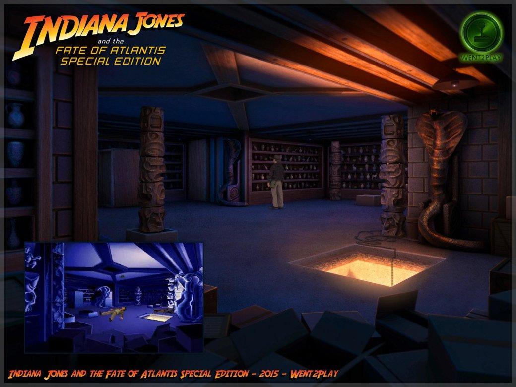 Lucasfilm попросила закрыть фанатский ремейк квеста про Индиану Джонса | Канобу - Изображение 11538
